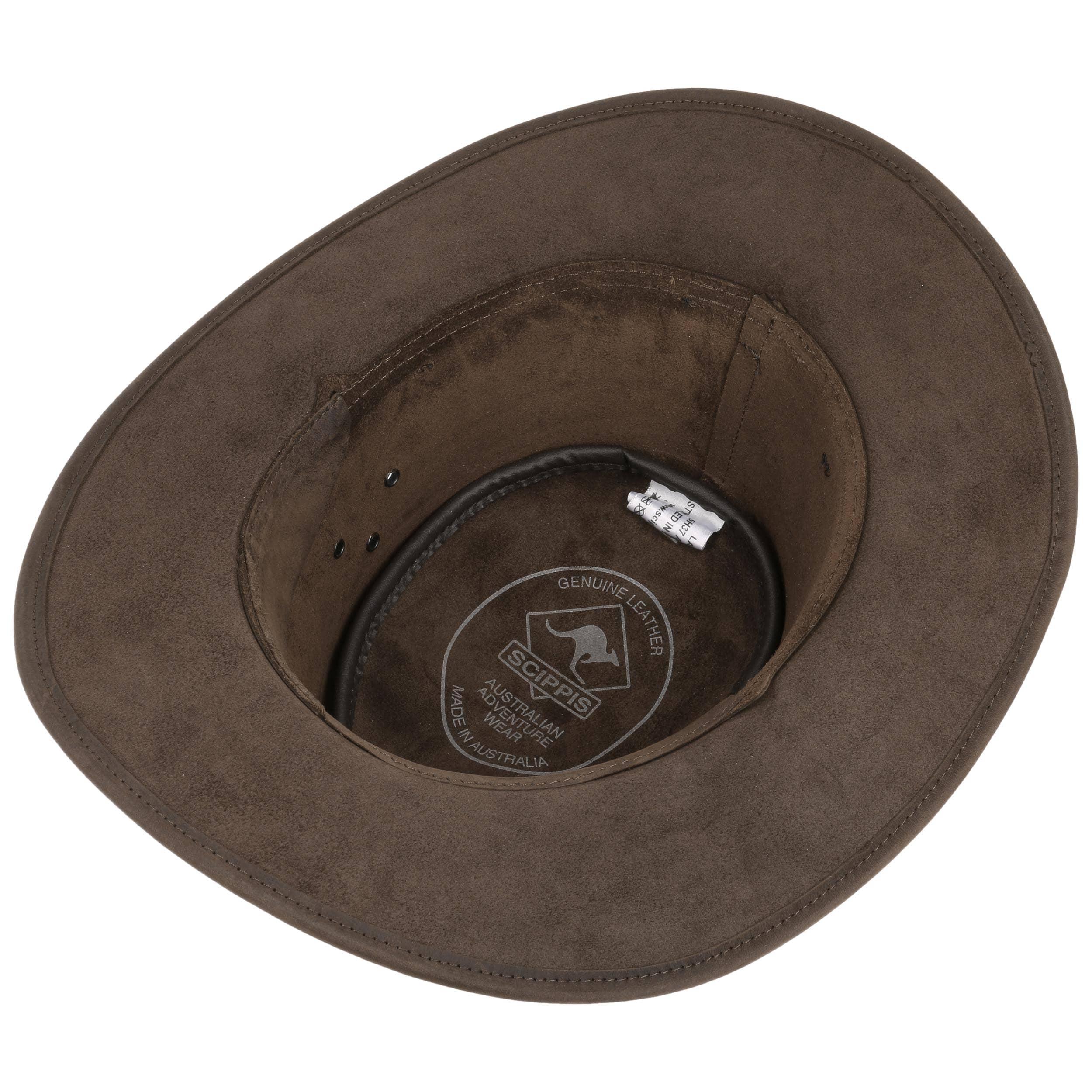 ... Sombrero de Piel Albury Stonewashed by Scippis - marrón 2 ... 32f6f027841