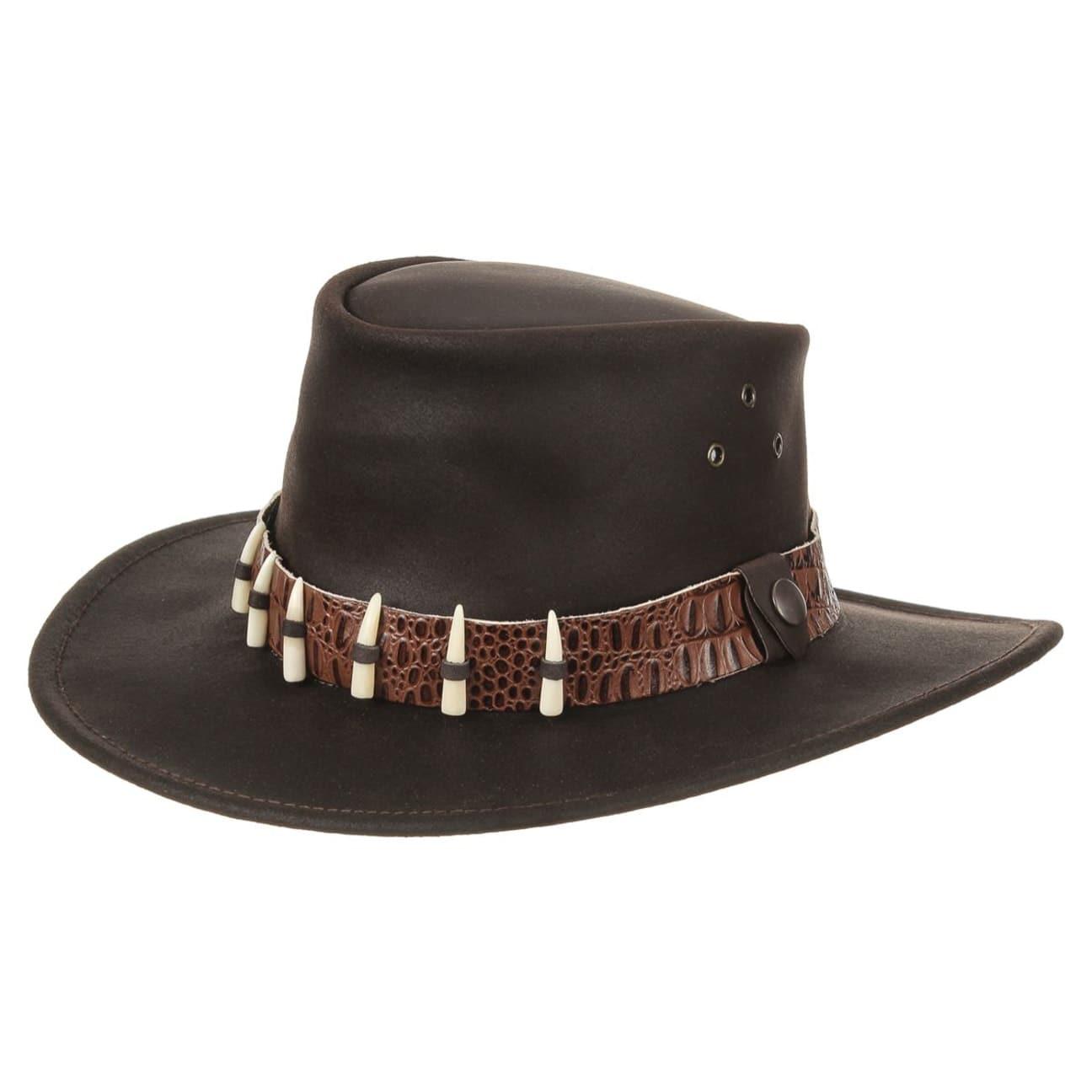Sombrero de Piel Cape York by Jacaru - Sombreros - sombreroshop.es 18c721b51b2