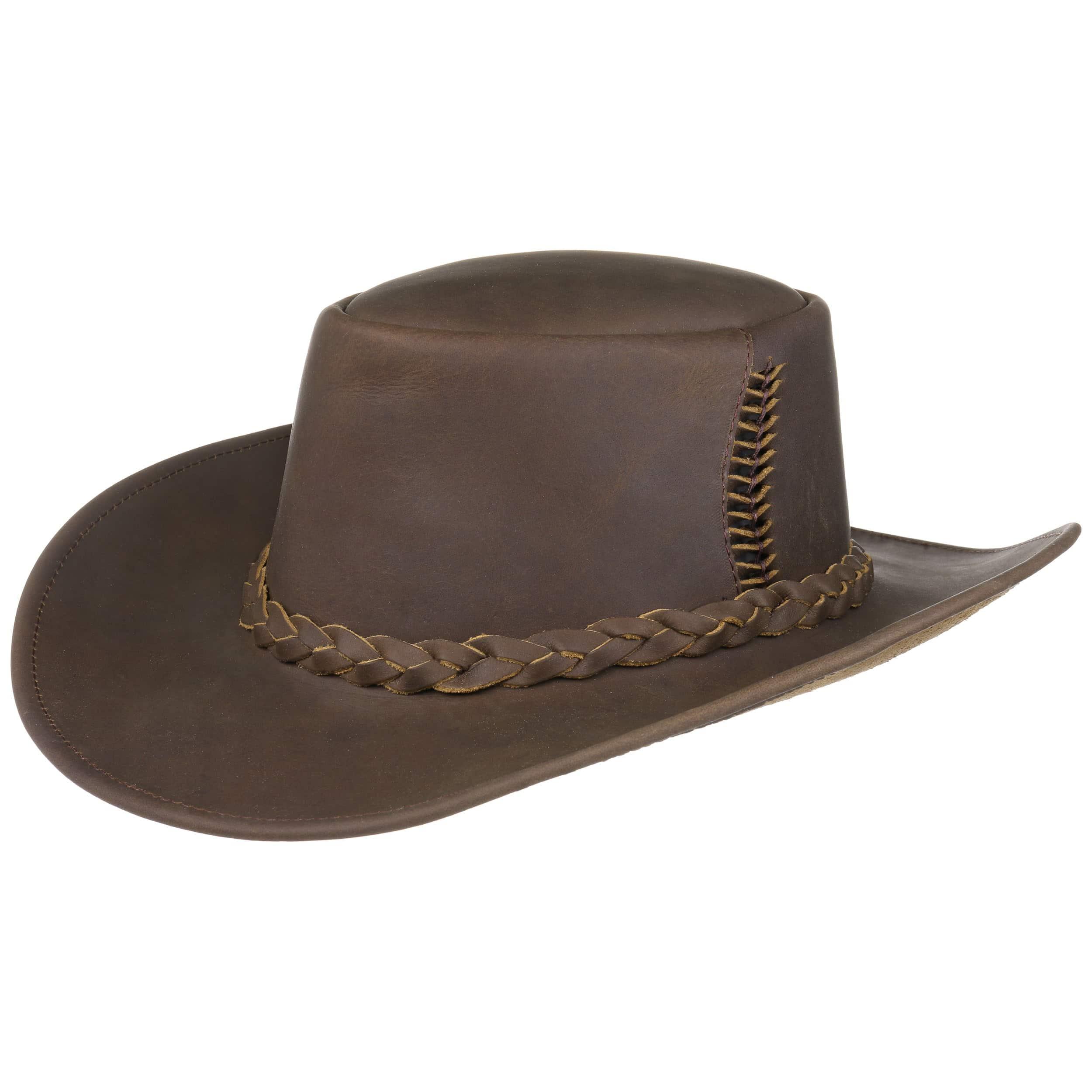 Sombrero de Piel Cobram by Kakadu Traders - Sombreros - sombreroshop.es 29aaececa02