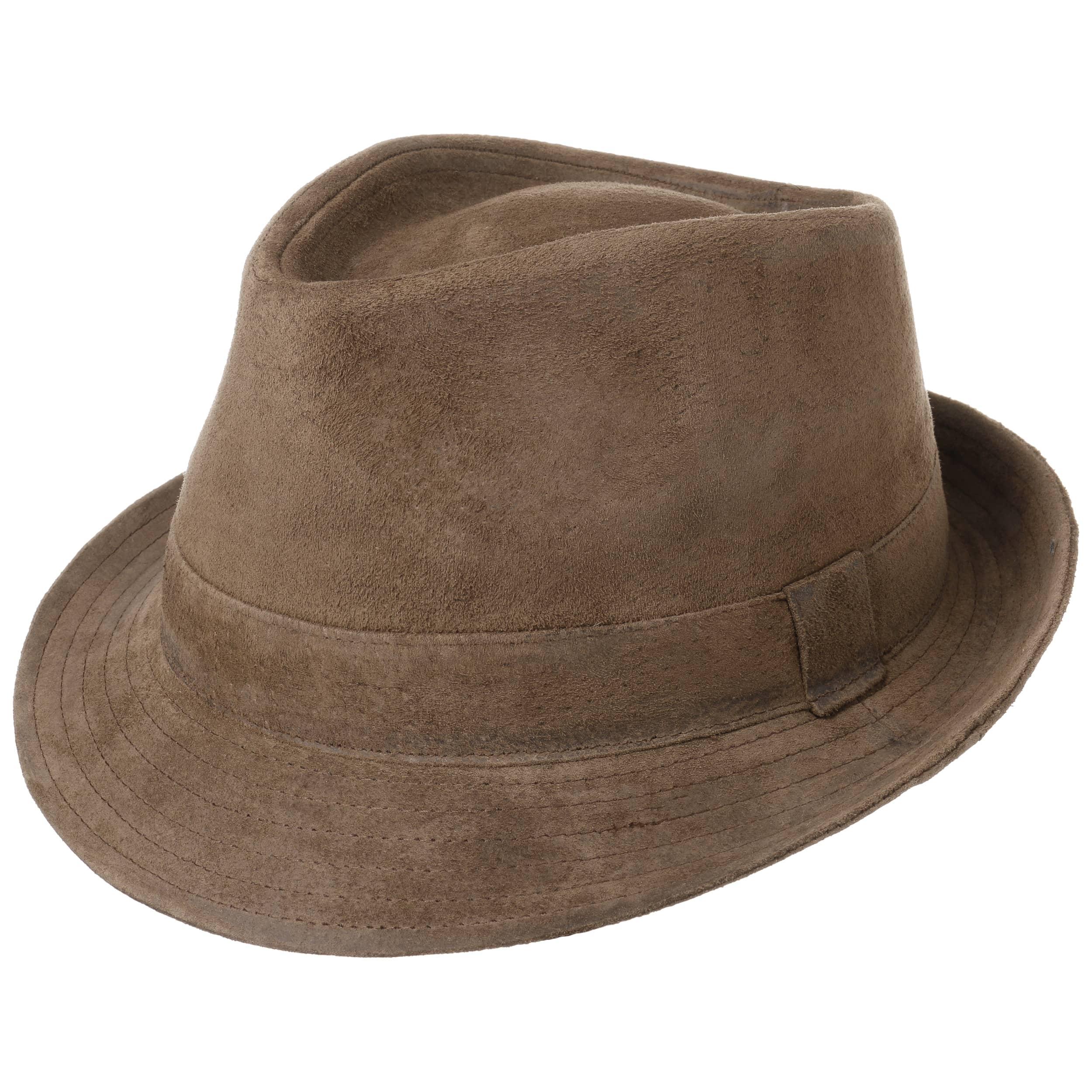 9656172f53afc Sombrero de Piel Smooth Trilby by Lipodo - Sombreros - sombreroshop.es