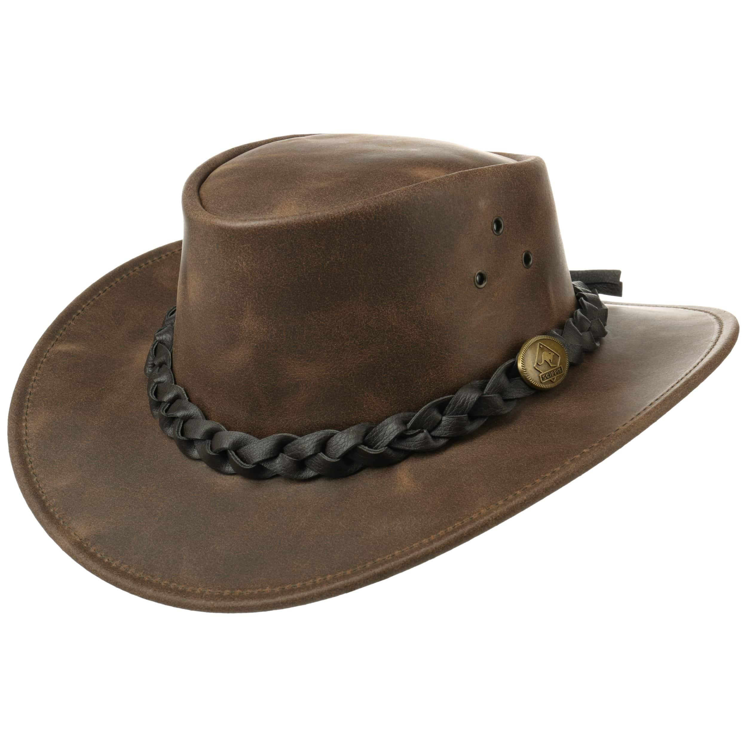 d77e24408c3a2 Sombrero de Piel Traveller by Scippis - Sombreros - sombreroshop.es