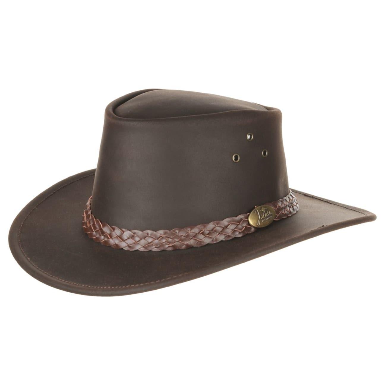 Sombrero de Piel Wallaroo Oil by Jacaru - Sombreros - sombreroshop.es d14c598a8f7