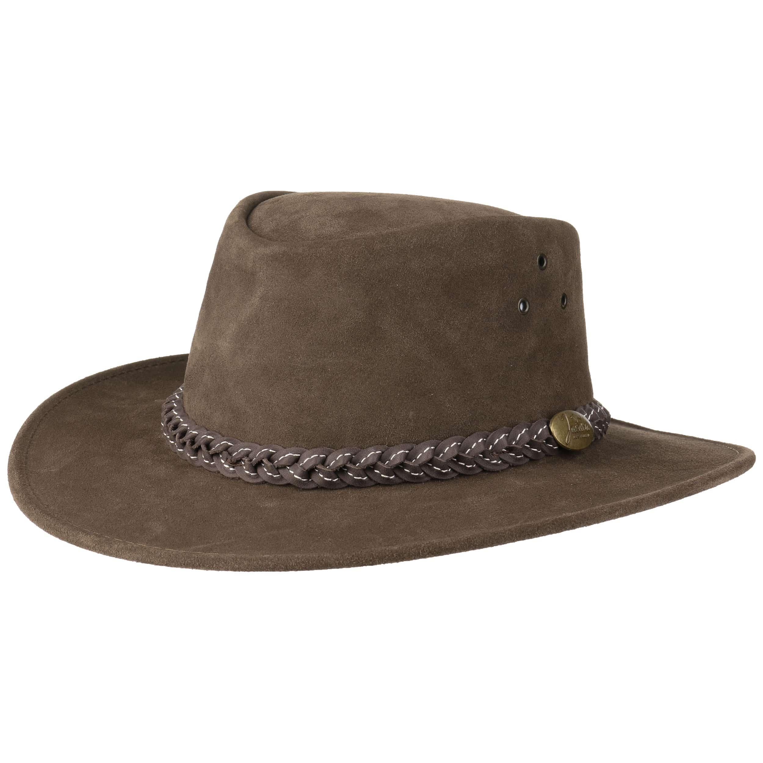 Sombrero de Piel Wallaroo Suede by Jacaru - Sombreros - sombreroshop.es 1304e7e4f07