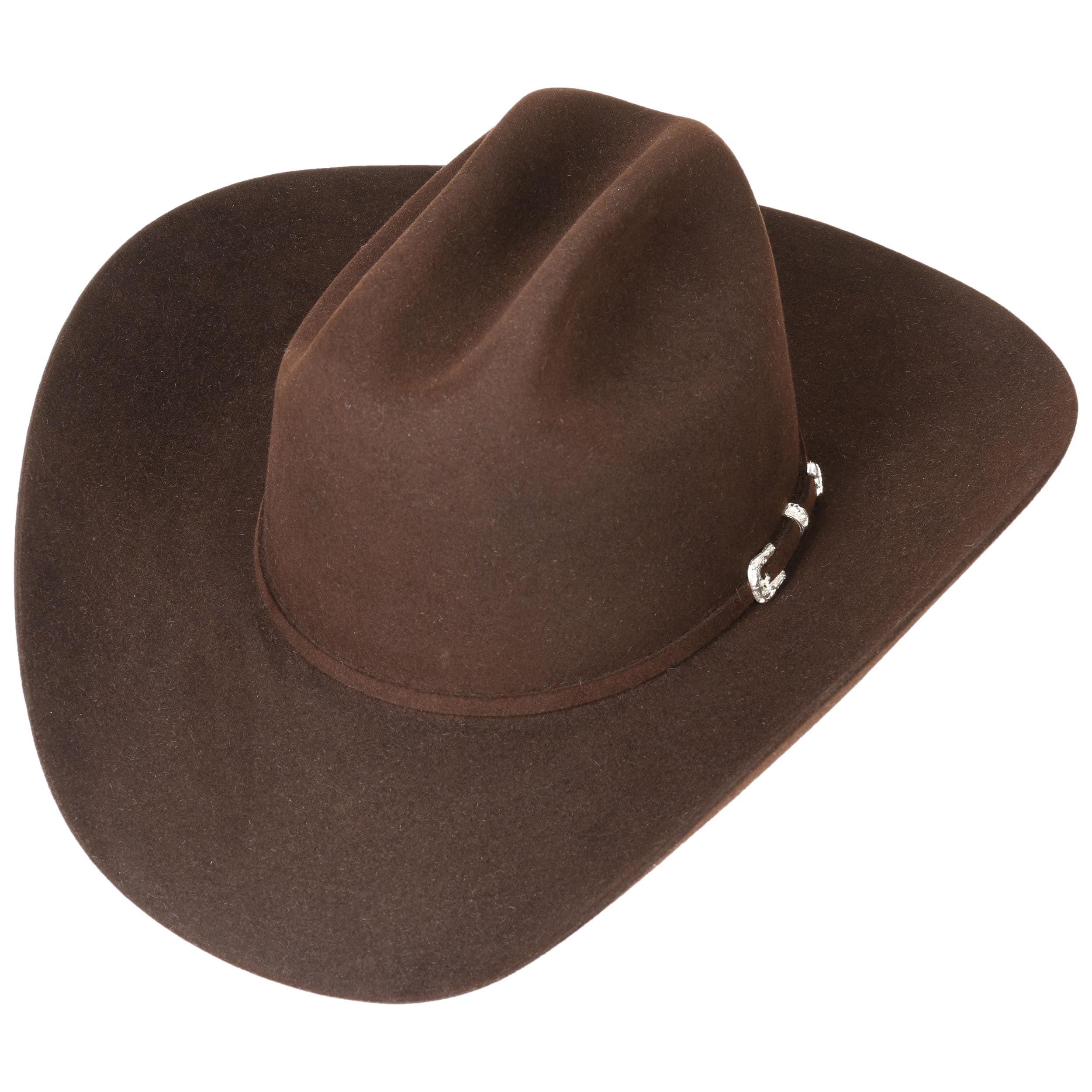 78e2aa5dd Sombrero de Vaquero Lariat 5X by Stetson - marrón oscuro 1 ...