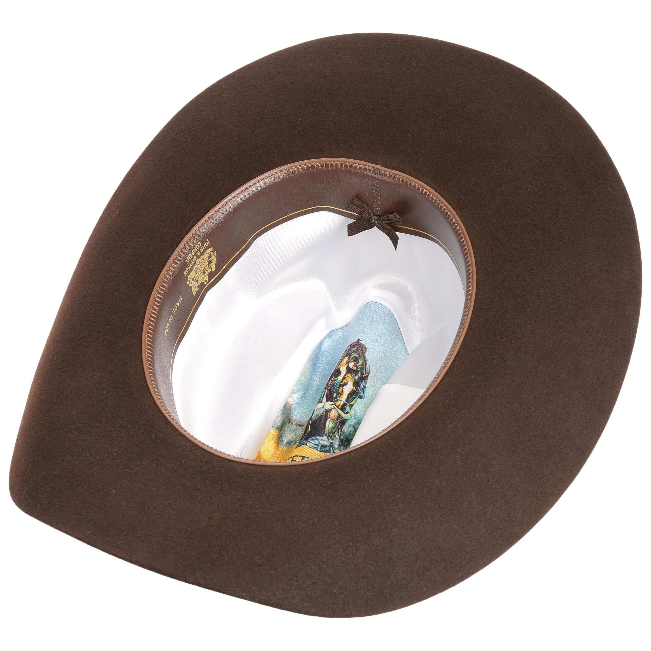 3506ccaaf ... castaño claro 1 · Sombrero de Vaquero Lariat 5X by Stetson - marrón  oscuro 2 ...