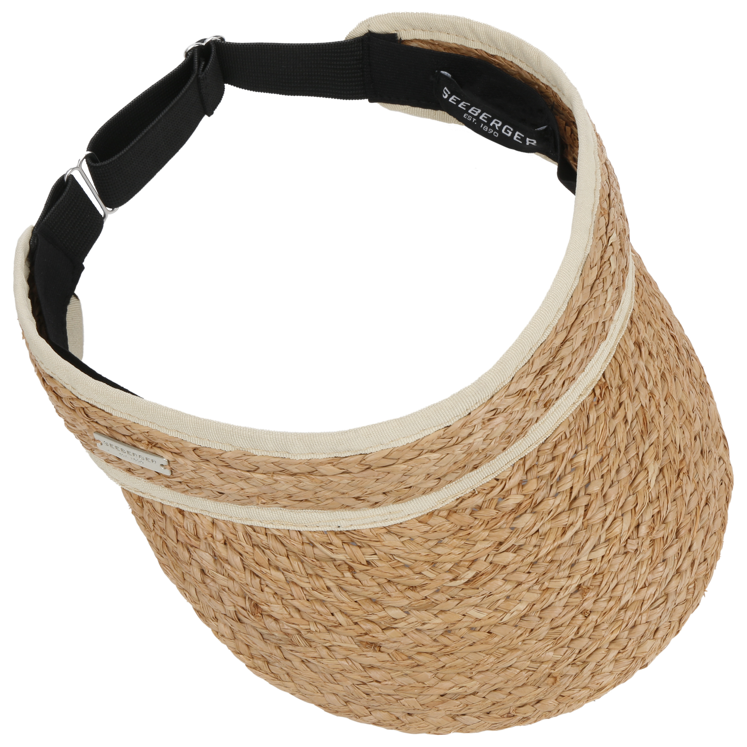 Visera Rafia by Seeberger - Gorras - sombreroshop.es bfba0b7e83b